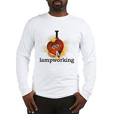 I heart / love lampworking Long Sleeve T-Shirt