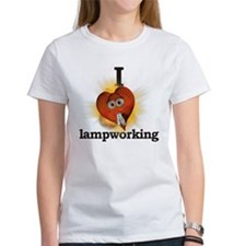 I heart / love lampworking Tee