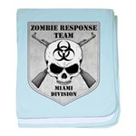 Zombie Response Team: Miami Division baby blanket