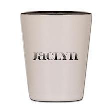 Jaclyn Carved Metal Shot Glass
