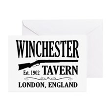 Winchester Tavern Shaun of the Dead Greeting Cards