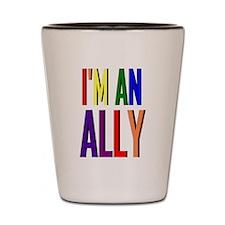 I'm an Ally Shot Glass