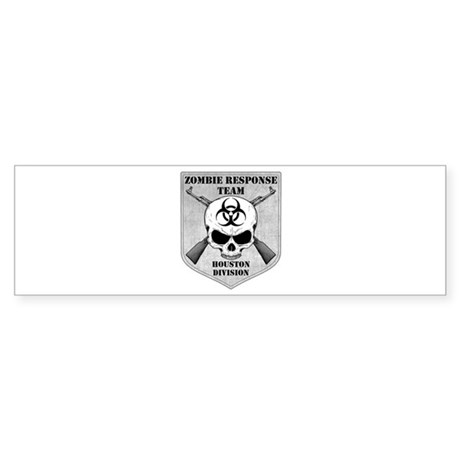 Zombie Response Team: Houston Division Sticker (Bu