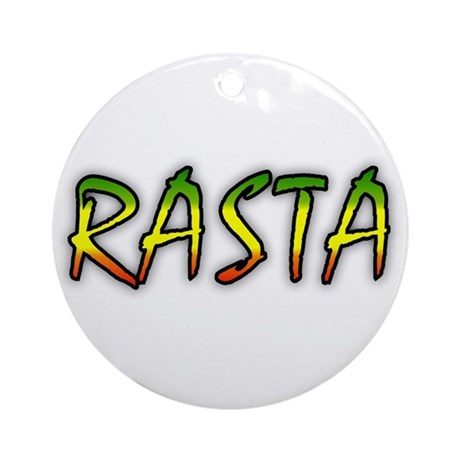 Rasta Ornament (Round)