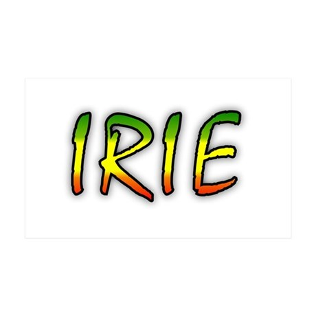 Irie 38.5 x 24.5 Wall Peel