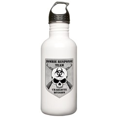 Zombie Response Team: Charlotte Division Water Bottle