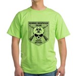 Zombie Response Team: Bronx Division Green T-Shirt