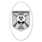 Zombie Response Team: Bronx Division Sticker (Oval
