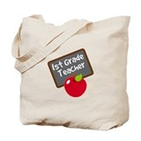Fun 1st Grade Teacher Gift Tote Bag