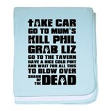 Shaun of the Dead Take Car ... baby blanket