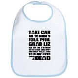 Shaun of the Dead Take Car ... Bib