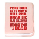 Shaun of the Dead Pint... baby blanket