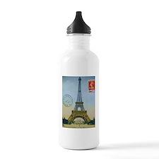 VINTAGE EIFFEL TOWER Water Bottle