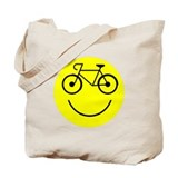 Smiley Cycle Tote Bag