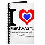 I love Breakfast Journal