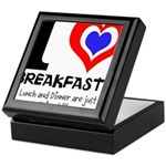 I love Breakfast Keepsake Box
