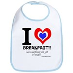 I love Breakfast Bib