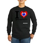 I love Breakfast Long Sleeve Dark T-Shirt