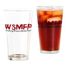 Cute Wsp Drinking Glass