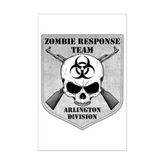 Zombie Response Team: Arlington Division Posters