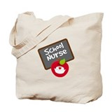 Fun School Nurse Gift Tote Bag