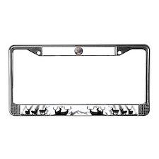 Dream Buck License Plate Frame