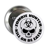 "Zombie Hunter 4 2.25"" Button (10 pack)"