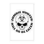 Zombie Hunter 4 Mini Poster Print