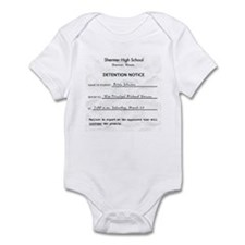'Breakfast Club Detention' Infant Bodysuit