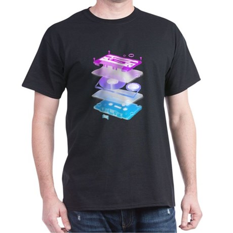 Cassette Explosion Dark T-Shirt