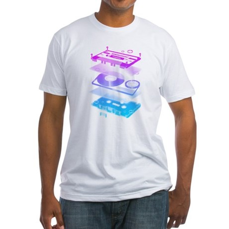 Cassette Explosion Fitted T-Shirt