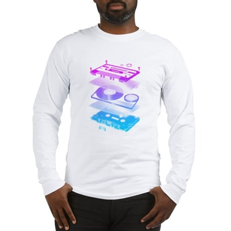 Cassette Explosion Long Sleeve T-Shirt