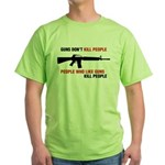 Guns Green T-Shirt