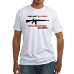 Guns Fitted T-Shirt