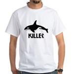 Killer Whale White T-Shirt