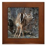 Framed Tile - Deer (Turning)