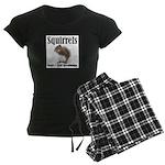 Squirrel Bumps Women's Dark Pajamas