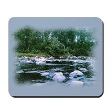 wisconsin stream... Mousepad