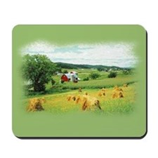 wisconsin farm... Mousepad