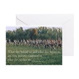 Running a Race Greeting Cards (Pk of 10)