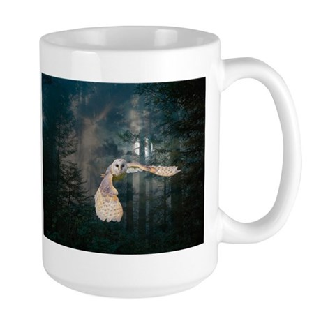 Large Mug Owl at Midnight