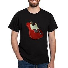 Red Tele Guitar T-Shirt