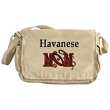 Havanese Mom Gifts Messenger Bag