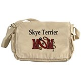 Skye Terrier Mom Messenger Bag