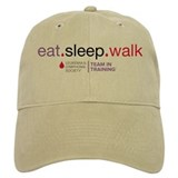 Eat Sleep Walk Baseball Cap