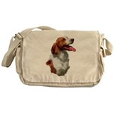 Brittany Spaniel Messenger Bag