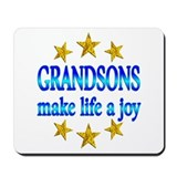 Grandson Joy Mousepad