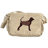 Treeing Walker Coonhound Messenger Bag