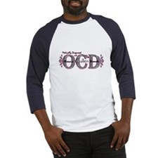 OCD purple Baseball Jersey