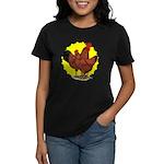 Production Red Sunburst Women's Dark T-Shirt